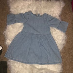 Gap toddler girl denim dress